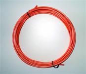 Brzdový bovden JAGWIRE L3 oranžový, 1m