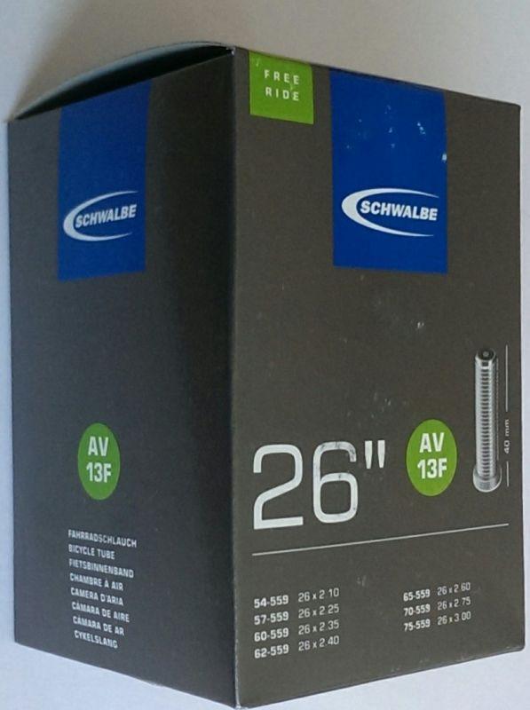 """Duše 26"""" AV13F (54/75-559) Schwalbe"""