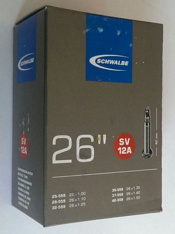 """Duše 26"""" SV12A (25/40-559) Schwalbe"""