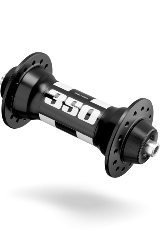Náboj přední 350, CLASSIC, osa 5 mm, 28 děr DT SWISS