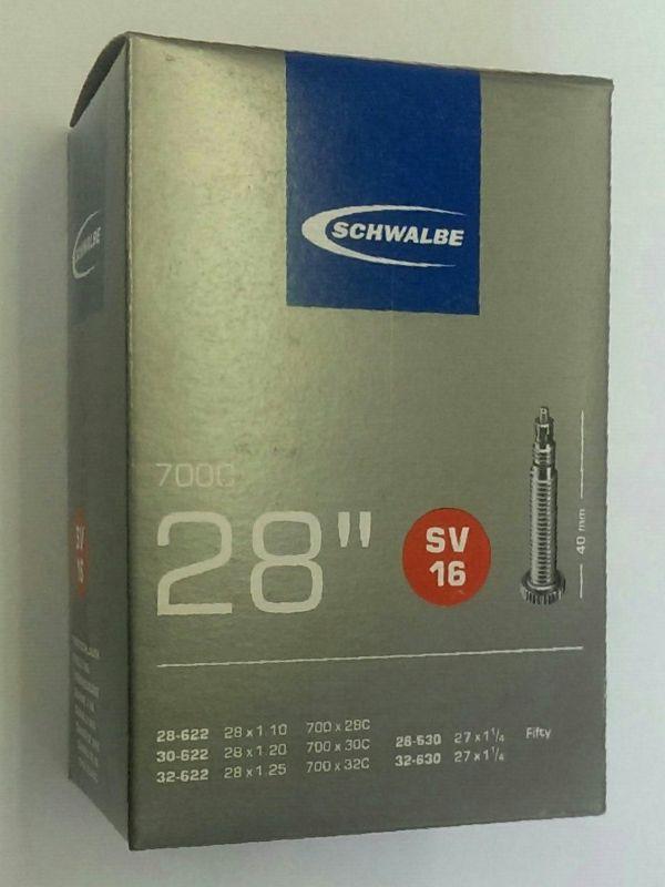 """Duše 28"""" SV16 (28/32-622) Schwalbe"""